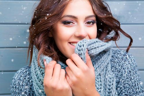 donna-freddo-neve